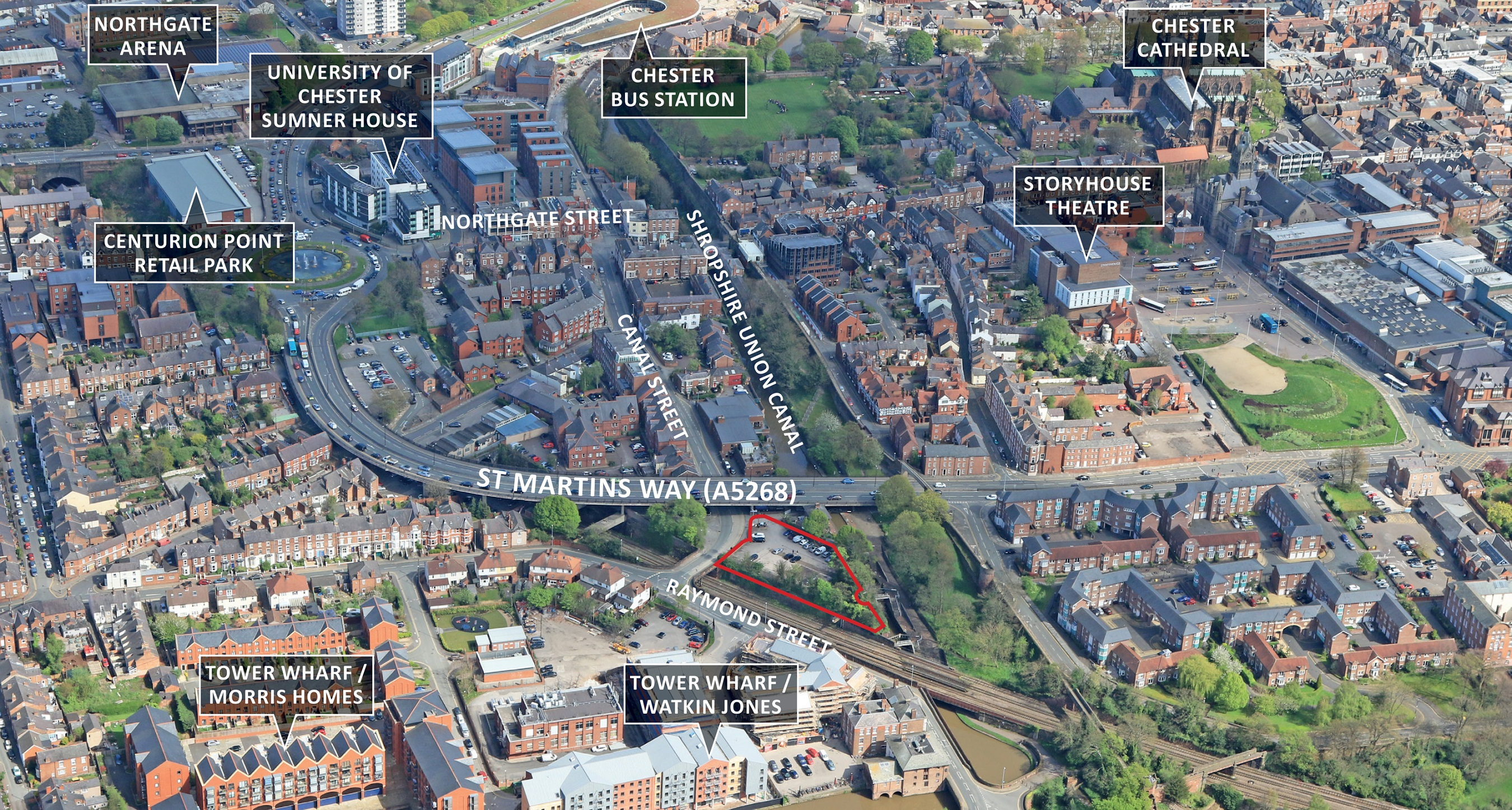 Short Term Car Lease >> Northgate Locks, Canal Street, CHESTER, Cheshire Under Offer
